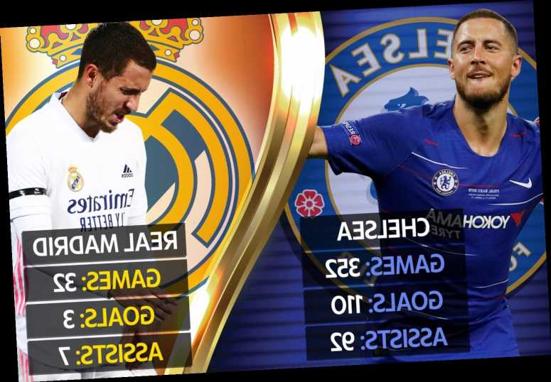 Zidane begs Real Madrid fans to 'be patient' with misfiring Eden Hazard and admits ex-Chelsea star is low on confidence
