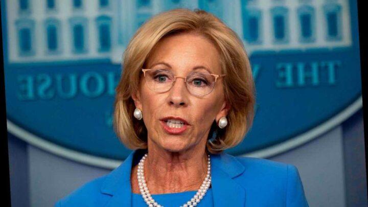 Betsy DeVos resigns, citing 'unconscionable' DC riot