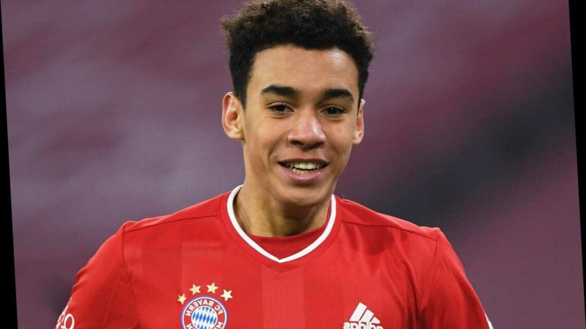 Bayern Munich to hand 17-year-old England sensation Jamal Musiala new three-year contract extension