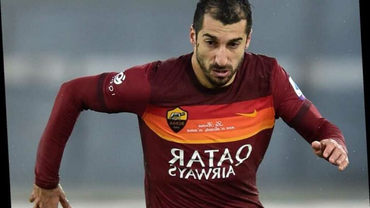 Arsenal and Man Utd flop Henrikh Mkhitaryan extends Roma contract and won't be available on free transfer in summer