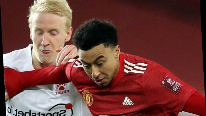 Jesse Lingard set to be stuck on Man Utd bench as Nice pull out of loan transfer move with several clubs in talks