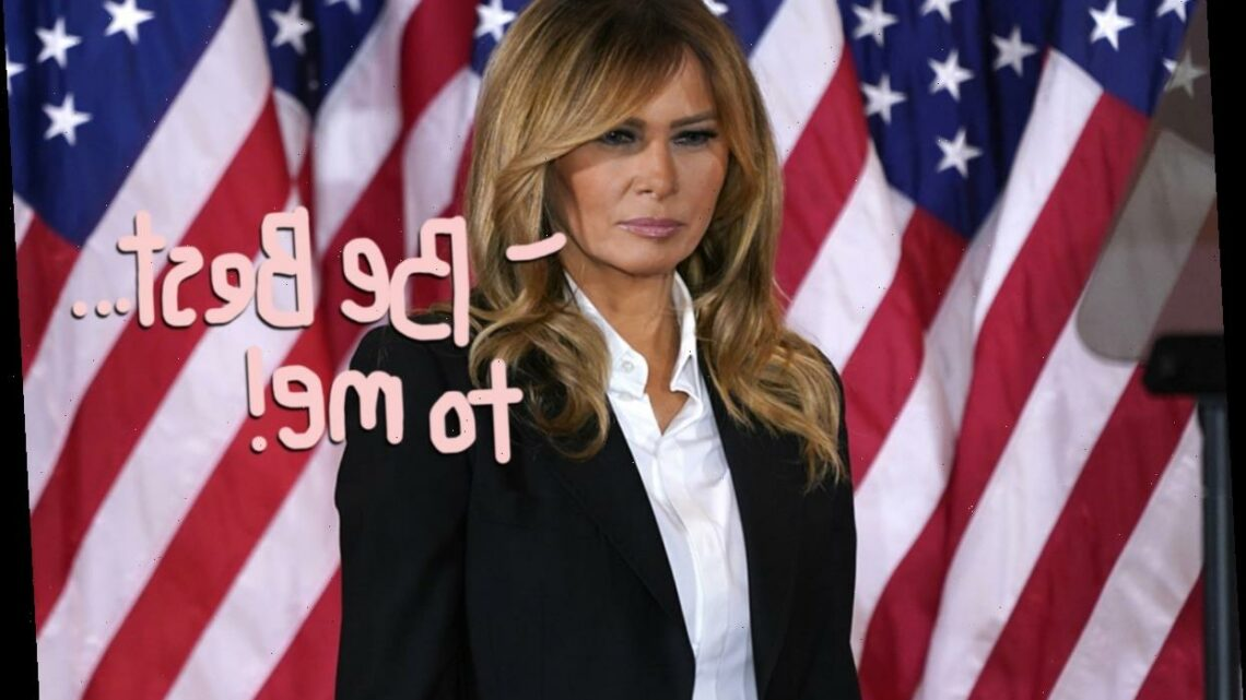 Melania Trump Finally Speaks Out About The Capitol Riots – And Paints HERSELF As A Victim! Unbelievable!