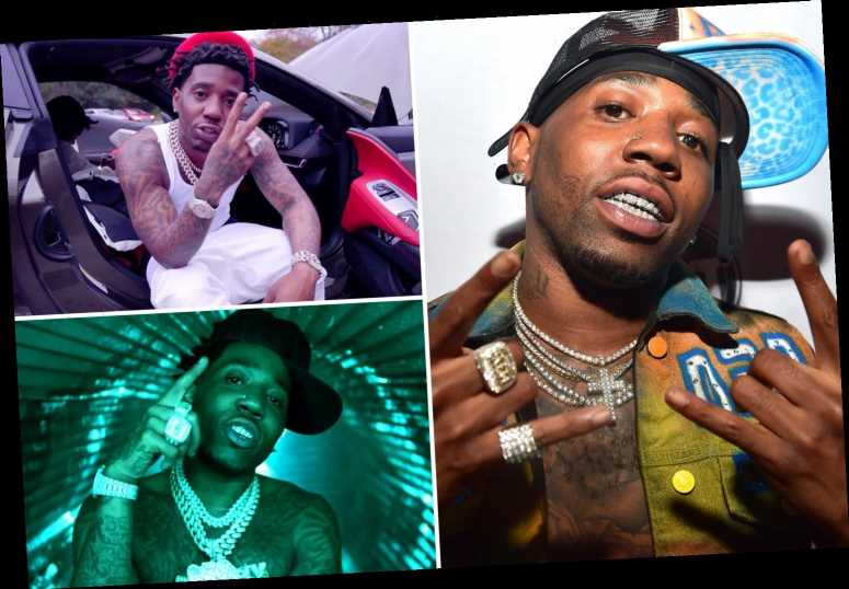 YFN Lucci's lyrics reveal he threatened to 'MURDER' rival and 'put him in the ground' ahead of shooting arrest