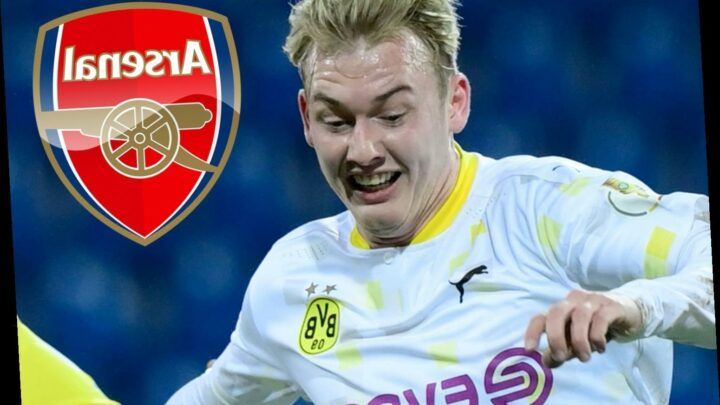 Arsenal keen on Julian Brandt transfer this month in £22.5m deal with Borussia Dortmund ace willing to join Gunners