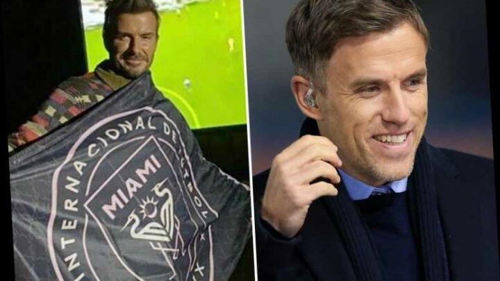 Phil Neville on brink of becoming Inter Miami boss in next 48 hours and link up with Man Utd pal David Beckham in MLS