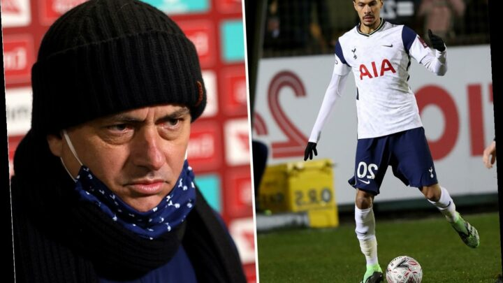 Tottenham boss Jose Mourinho confirms Dele Alli is back in his plans after midfielder stars in Marine FA Cup thrashing