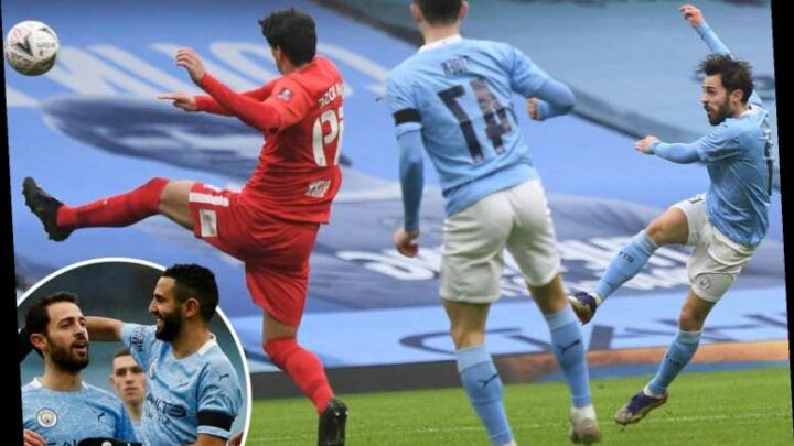 Man City 3 Birmingham 0: Bernardo Silva at the double as City blow away Championship strugglers with ease
