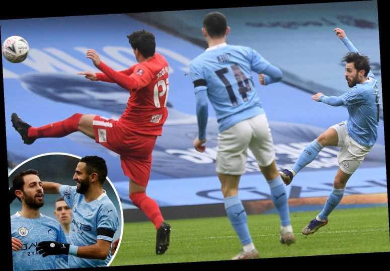 Man City 3 Birmingham 0: Bernardo Silva at the double as City blow away Championship strugglers with ease