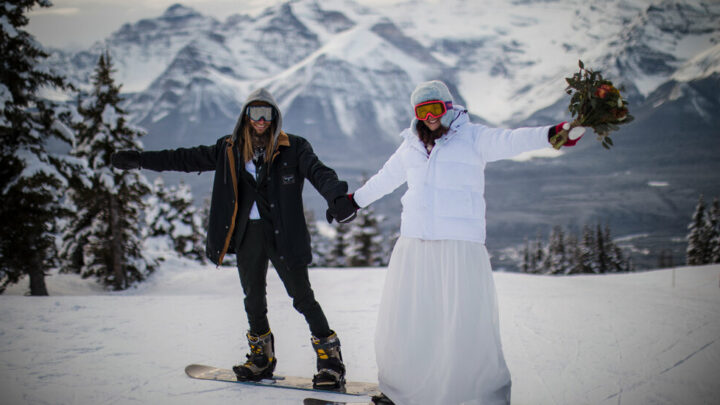 They Got Married on a Mountaintop
