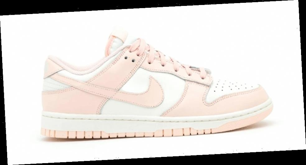 """Here's a First Look at the Nike Dunk Low """"Orange Pearl"""""""