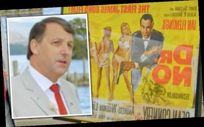 Antiques Roadshow expert fumes over original James Bond poster 'Scraped it off a wall?'