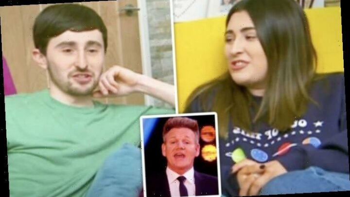 Gogglebox's Pete and Sophie mock Gordon Ramsay over game show career move 'Disgusting!'