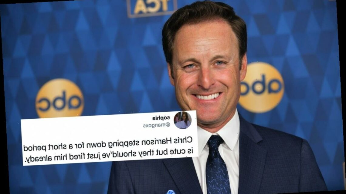 These Tweets About Chris Harrison Exiting 'The Bachelor' Are All Asking The Same Question