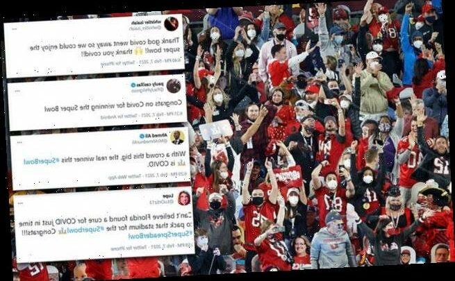 Critics blast maskless fans, lack of social distancing at Super Bowl