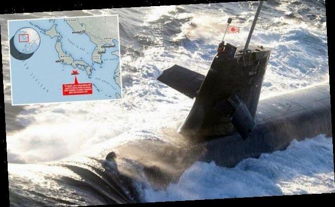 Japanese submarine crashes into Chinese tanker