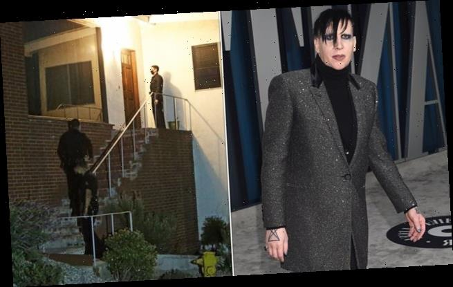 "Manson 'hires 24-hour guards at LA house after being left ""paranoid""'"