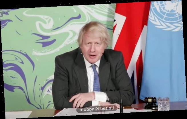 Boris defends green activists like Carrie Symonds in UN climate speech