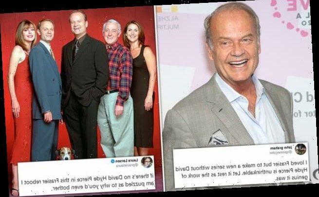 Frasier fans perplexed that rest of original cast left out