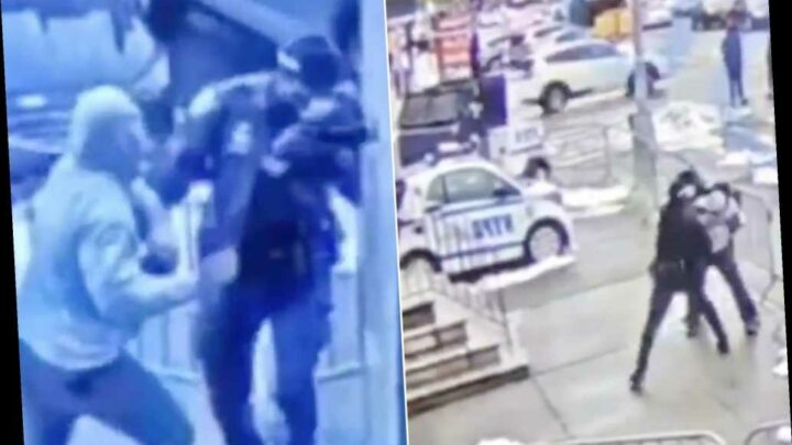 NYPD cop assaulted outside Bronx precinct