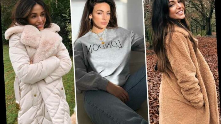 Michelle Keegan looks stunning as she models new Very range at home in pics shot by husband Mark Wright
