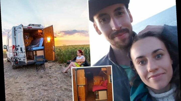 I quit my job to move to France and live in a van with a man I'd known for 3 days