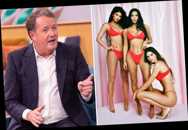 Piers Morgan defends calling Kendall Jenner the 'hotter' Kardashian after 'fat-shaming' fury erupts online