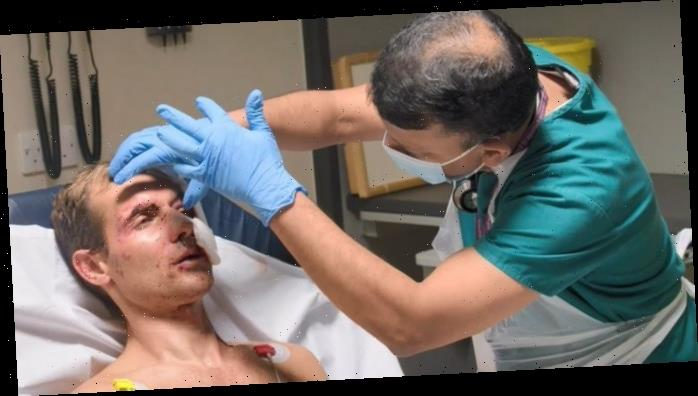 Jockey Danny Cook's harrowing eye injury revealed in full in Channel 5's A&E After Dark