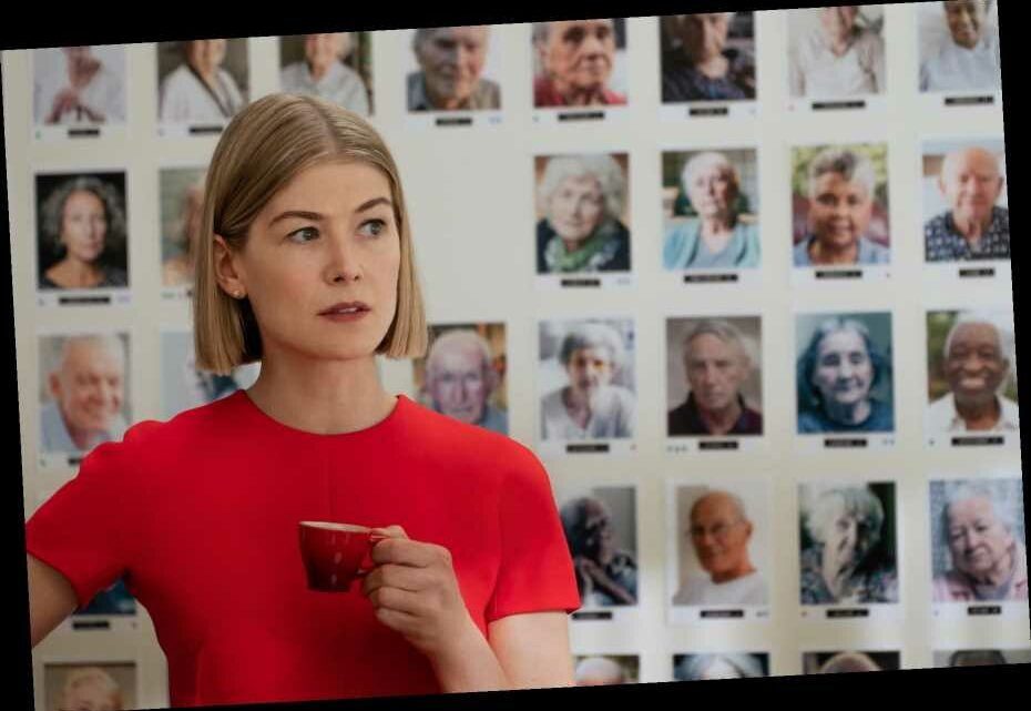 Rosamund Pike's Smile Says It All in 'I Care a Lot'