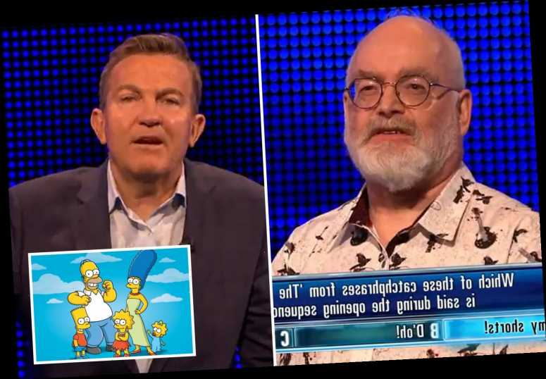 The Chase fans stunned as both Bradley Walsh AND contestant insist they've not watched The Simpsons