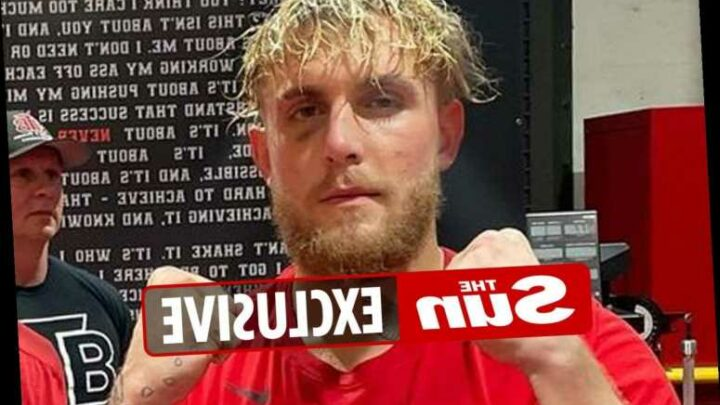 Jake Paul suffers black eye in sparring for Ben Askren fight and hints he will have surgery on face if he's bashed up