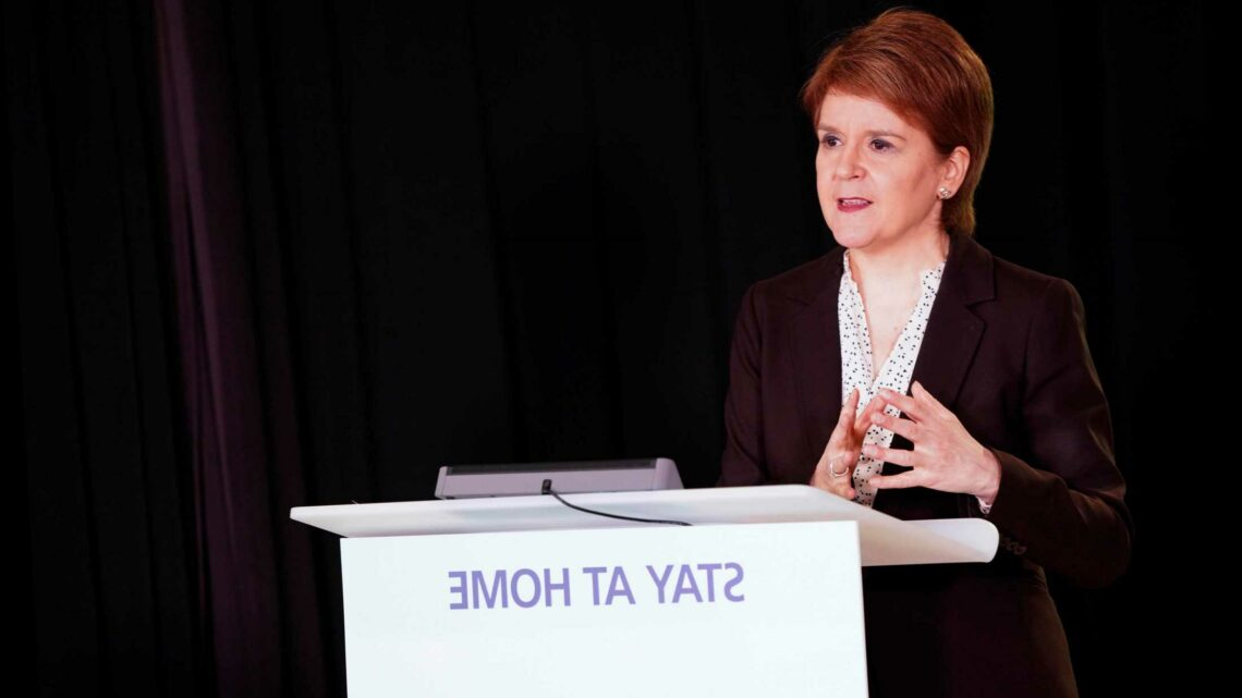 Now Sturgeon demands England enforces Scotland's blanket hotel quarantine by stopping travellers from low-risk nations