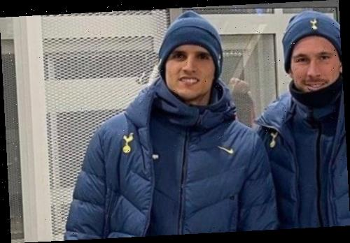 Erik Lamela denies hilarious wardrobe gaffe after Spurs star apparently zipped up coat to jumper underneath