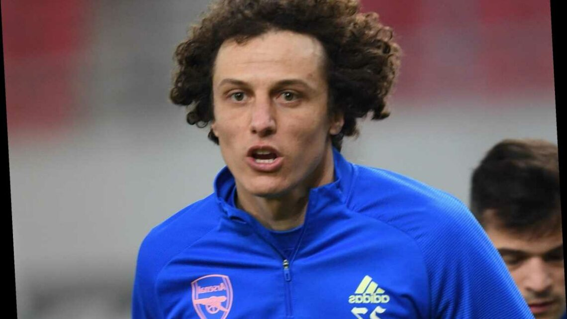 Arsenal star David Luiz urged to re-join old club Benfica on free transfer at end of season by club legend Nuno Gomes