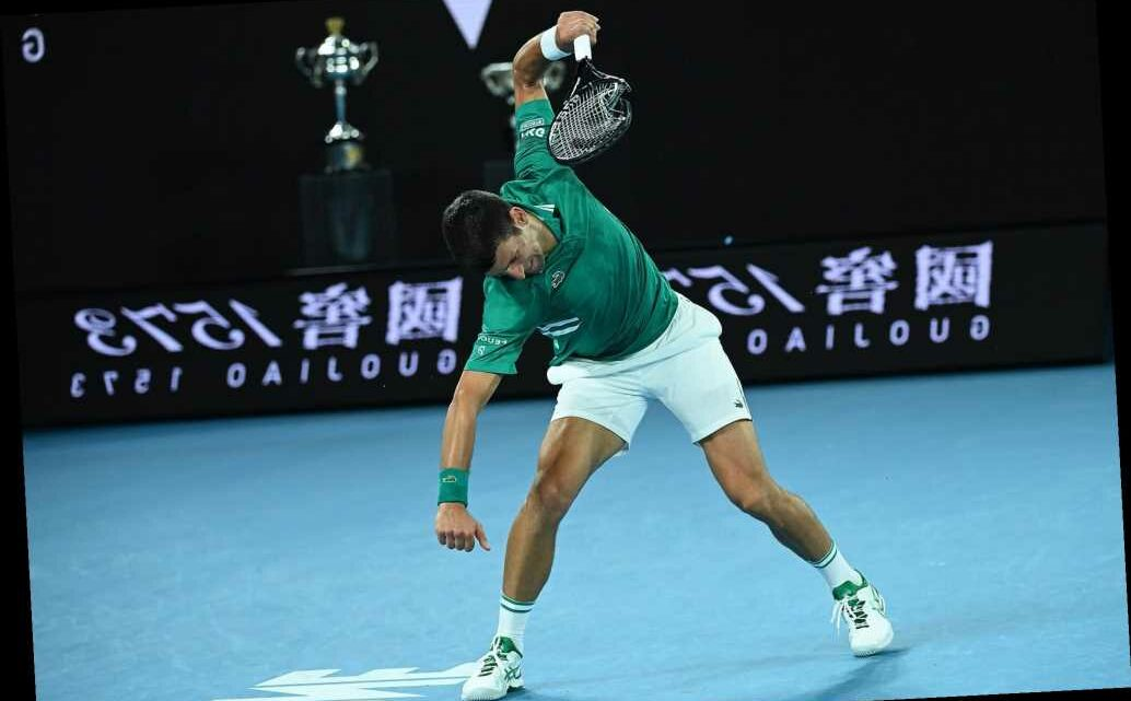 Novak Djokovic melts down at Australian Open: 'I have my own demons'