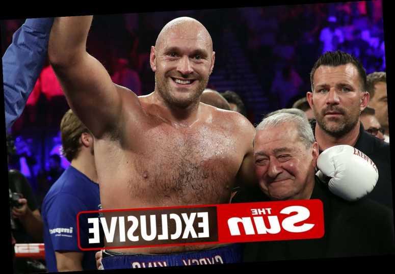Tyson Fury vs Anthony Joshua is biggest heavyweight fight since Muhammad Ali vs Joe Frazier, says Bob Arum