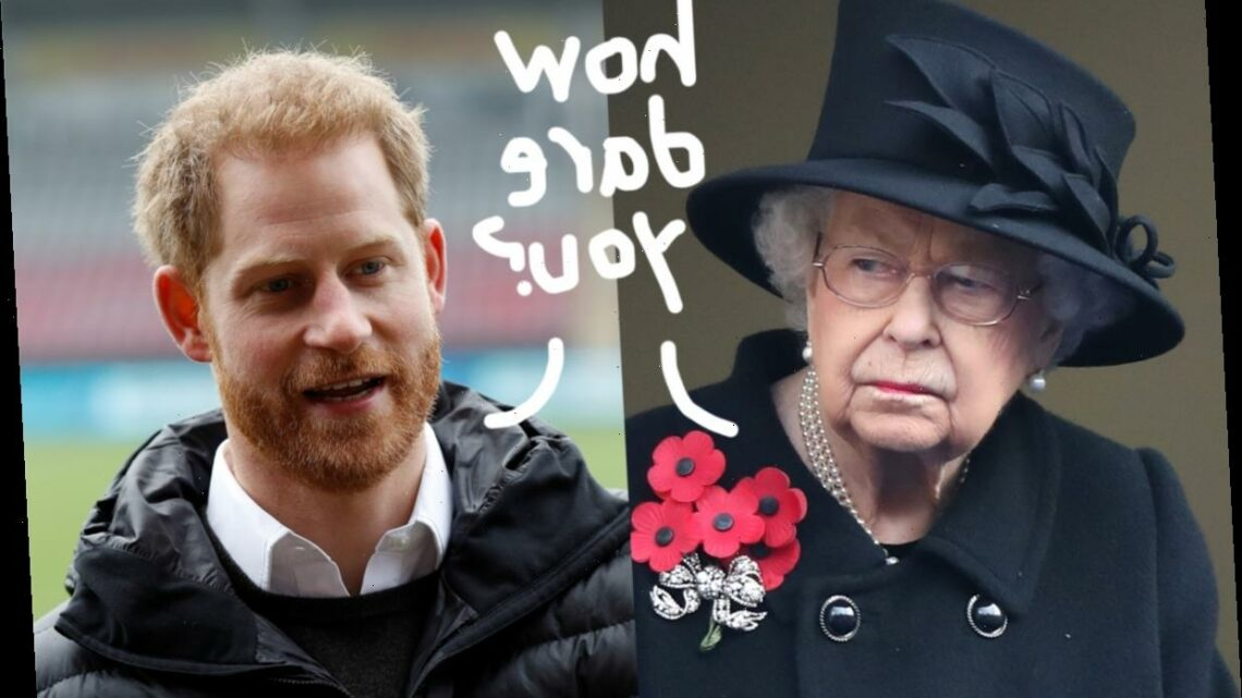 The REAL Reason Prince Harry & Queen Elizabeth Are So Upset!