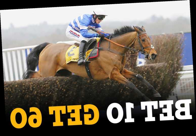 Ascot: Get £60 in free bets for six races on TODAY after you bet £10 on the first race