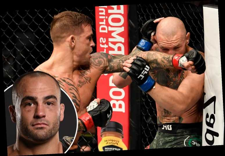 Dustin Poirier made Conor McGregor 'panic' with short sprints, claims ex-UFC champ Alvarez as he breaks down fight
