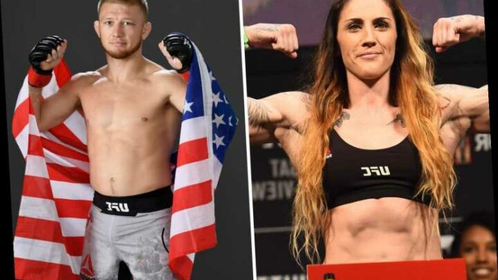 Female UFC star Megan Anderson to confront Casey Kenney after sexist claims about 'smashing' her