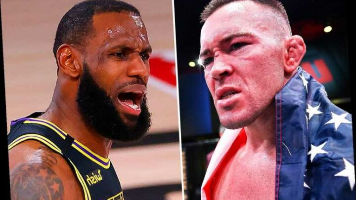UFC star Colby Covington calls LeBron James 'coward' who 'wouldn't last 10 seconds with me' in astonishing attack