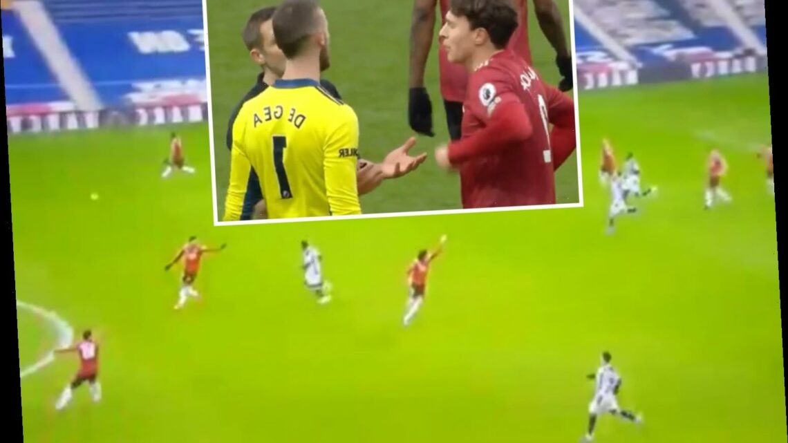 Man Utd fume at referee blowing for half-time while they were on rapid counter attack in West Brom draw