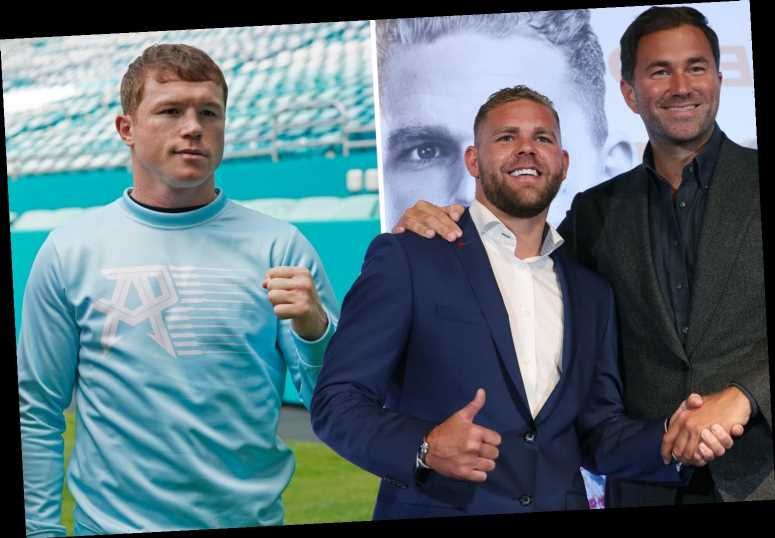 Billy Joe Saunders 'has the style' to beat Canelo as blockbuster unification fight draws near, claims Eddie Hearn