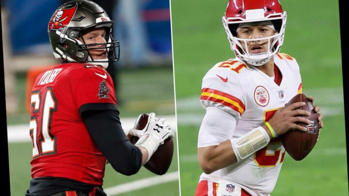 Latest Super Bowl odds, line before Chiefs-Buccaneers kickoff