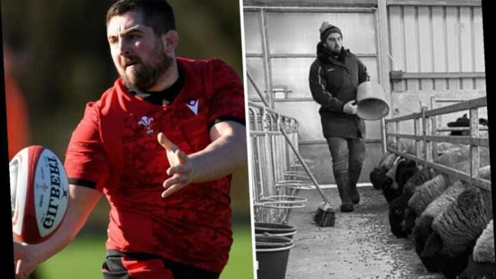 Wales prop star Wyn Jones splits life sheep farming and scrumming to victory ahead of England battle in Six Nations