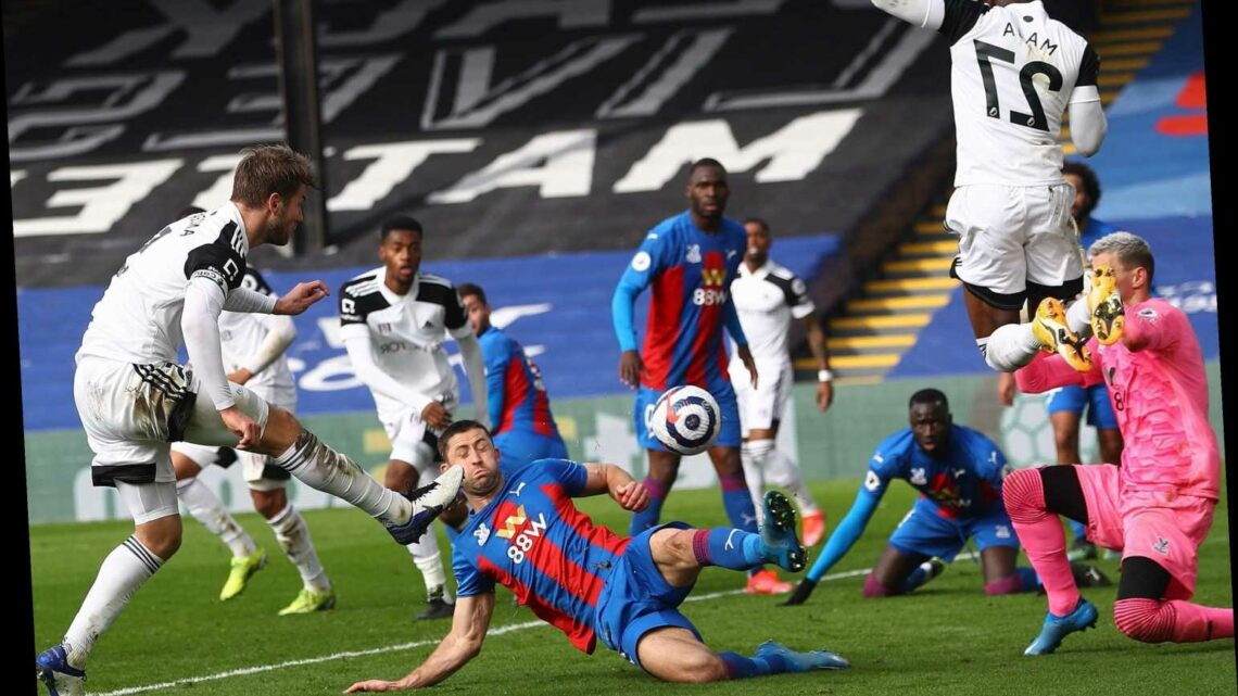 Crystal Palace 0 Fulham 0: Scott Parker's side miss chance to climb and remain three points off safety