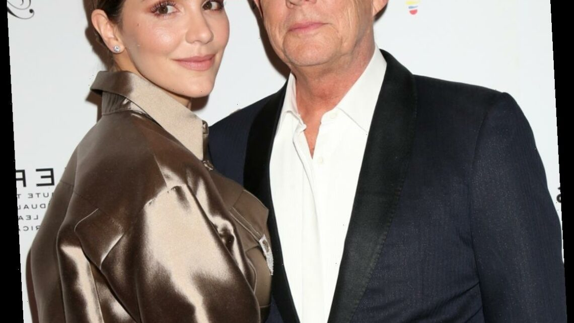 Katharine McPhee & David Foster welcomed a boy, his first son after five daughters