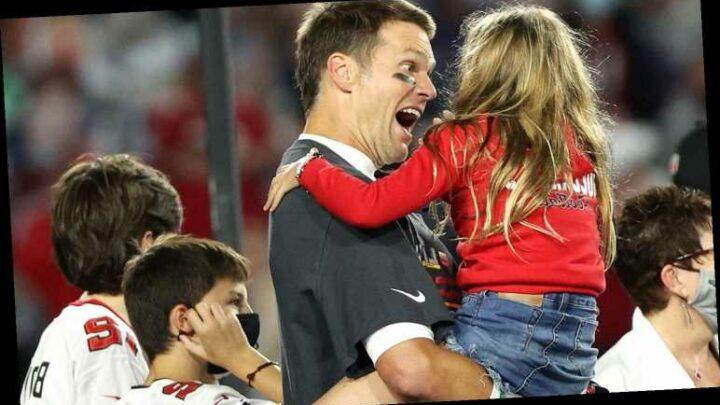 Tom Brady's 3 Kids Celebrate Super Bowl 2021 Win with Him – See Photos!