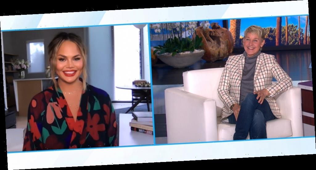 Chrissy Teigen Admits That Losing Son Jack 'Saved' Her on 'Ellen DeGeneres Show'