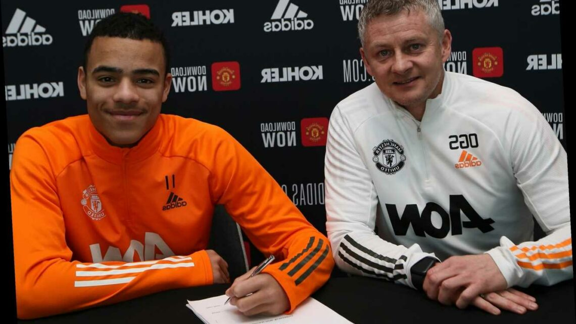 Mason Greenwood signs new four-year Man Utd deal with 12-month option as Solskjaer looks to give 19-year-old game time