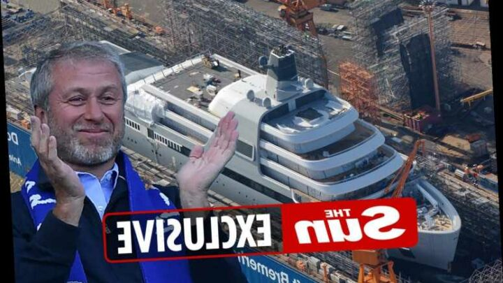 Chelsea owner Roman Abramovich's stunning new £430million Solaris yacht pictured for the first time